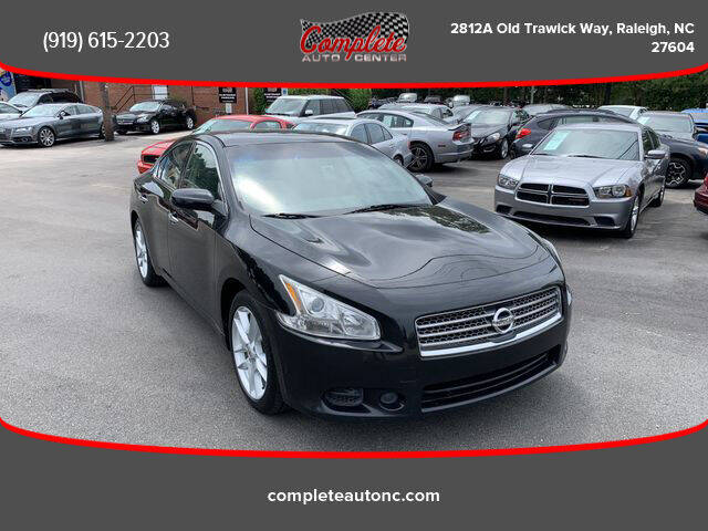 2010 Nissan Maxima for sale at Complete Auto Center , Inc in Raleigh NC