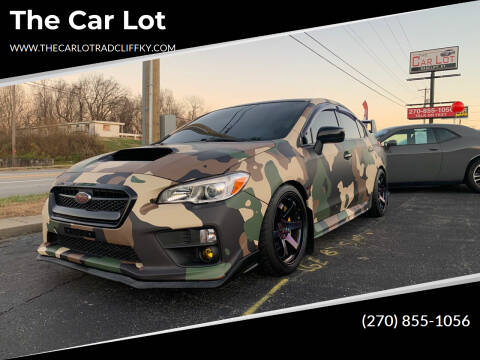 2016 Subaru WRX for sale at The Car Lot in Radcliff KY