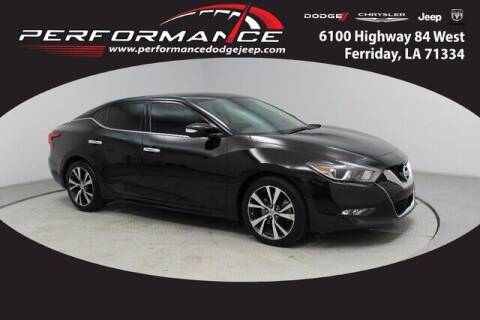 2016 Nissan Maxima for sale at Performance Dodge Chrysler Jeep in Ferriday LA