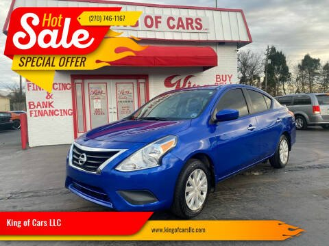 2017 Nissan Versa for sale at King of Cars LLC in Bowling Green KY
