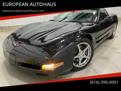 2001 Chevrolet Corvette for sale at EUROPEAN AUTOHAUS in Holland MI
