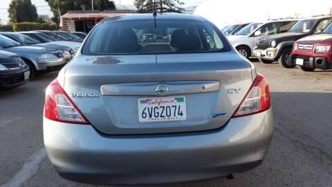 2012 Nissan Versa for sale at Goleta Motors in Goleta CA