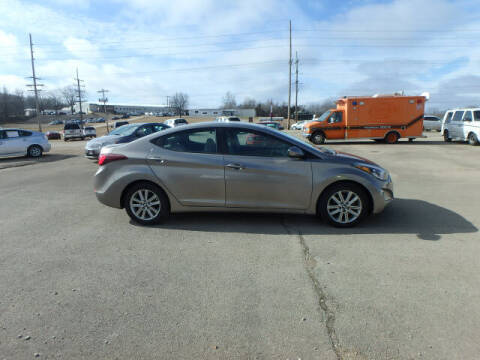 2015 Hyundai Elantra for sale at BLACKWELL MOTORS INC in Farmington MO