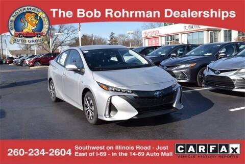 2021 Toyota Prius Prime for sale at BOB ROHRMAN FORT WAYNE TOYOTA in Fort Wayne IN