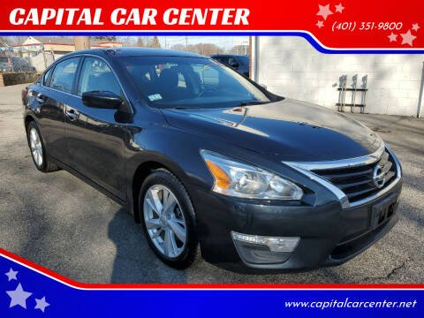 2013 Nissan Altima for sale at CAPITAL CAR CENTER in Providence RI