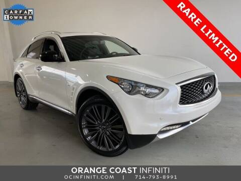 2017 Infiniti QX70 for sale at ORANGE COAST CARS in Westminster CA