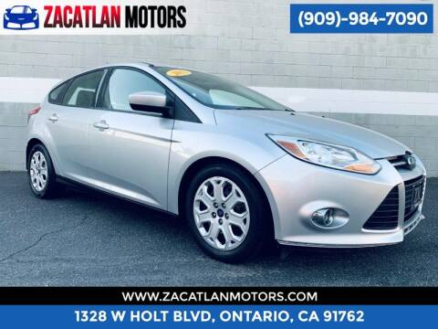 2012 Ford Focus for sale at Ontario Auto Square in Ontario CA