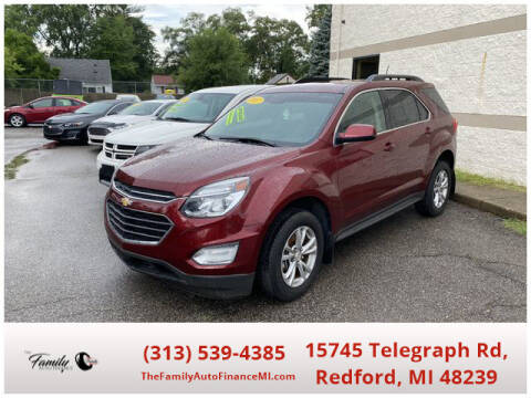 2017 Chevrolet Equinox for sale at The Family Auto Finance in Redford MI