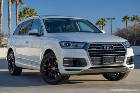 2018 Audi Q7 for sale at Euro Auto Sales in Santa Clara CA