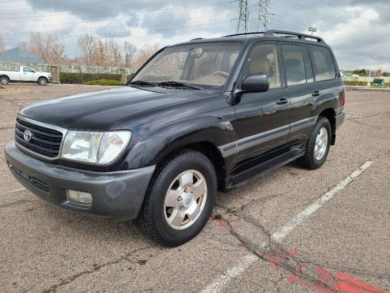 1999 Toyota Land Cruiser for sale at The Car Guy in Glendale CO