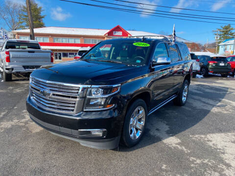 2016 Chevrolet Tahoe for sale at Sisson Pre-Owned in Uniontown PA