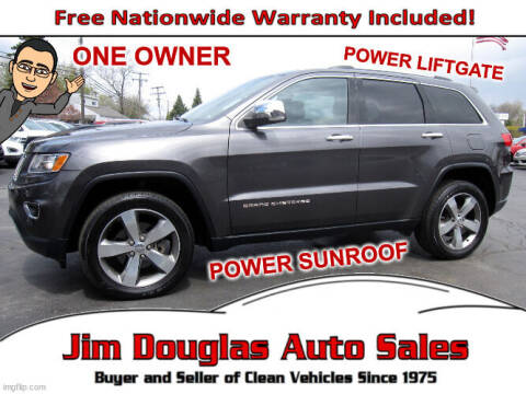 2016 Jeep Grand Cherokee for sale at Jim Douglas Auto Sales in Pontiac MI