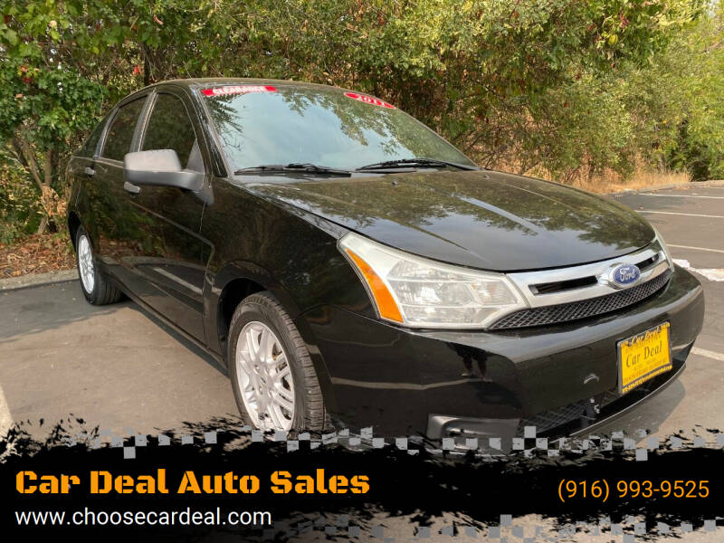 2011 Ford Focus for sale at Car Deal Auto Sales in Sacramento CA