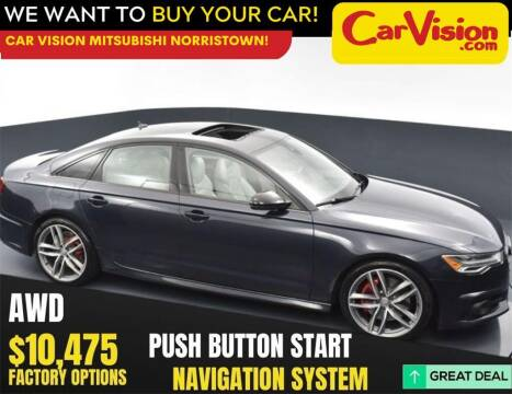 2018 Audi A6 for sale at Car Vision Mitsubishi Norristown in Norristown PA