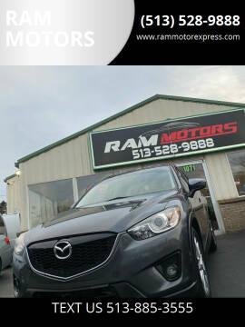 2015 Mazda CX-5 for sale at RAM MOTORS in Cincinnati OH