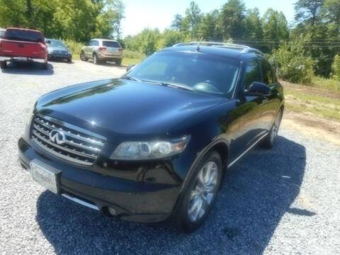 2008 Infiniti FX35 for sale at Judy's Cars in Lenoir NC