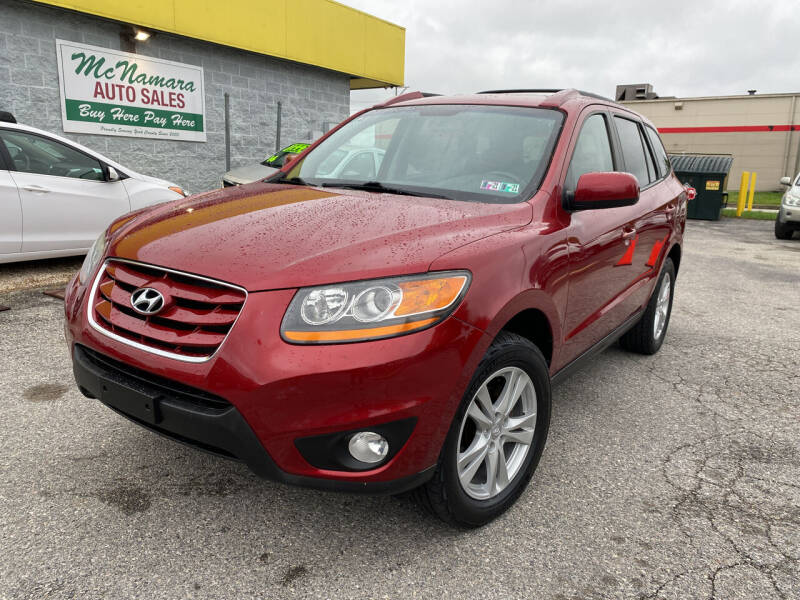 2010 Hyundai Santa Fe for sale at McNamara Auto Sales - Kenneth Road Lot in York PA