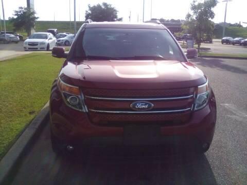 2014 Ford Explorer for sale at JOE BULLARD USED CARS in Mobile AL