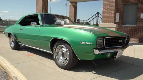 1969 Chevrolet Camaro for sale at Klemme Klassic Kars in Davenport IA