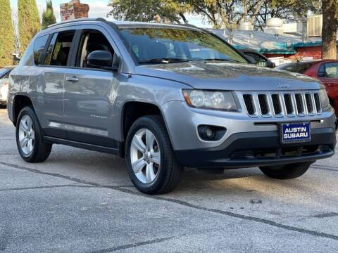 2014 Jeep Compass for sale at AWESOME CARS LLC in Austin TX