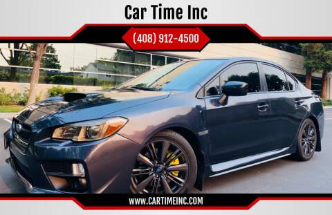 2015 Subaru WRX for sale at Car Time Inc in San Jose CA