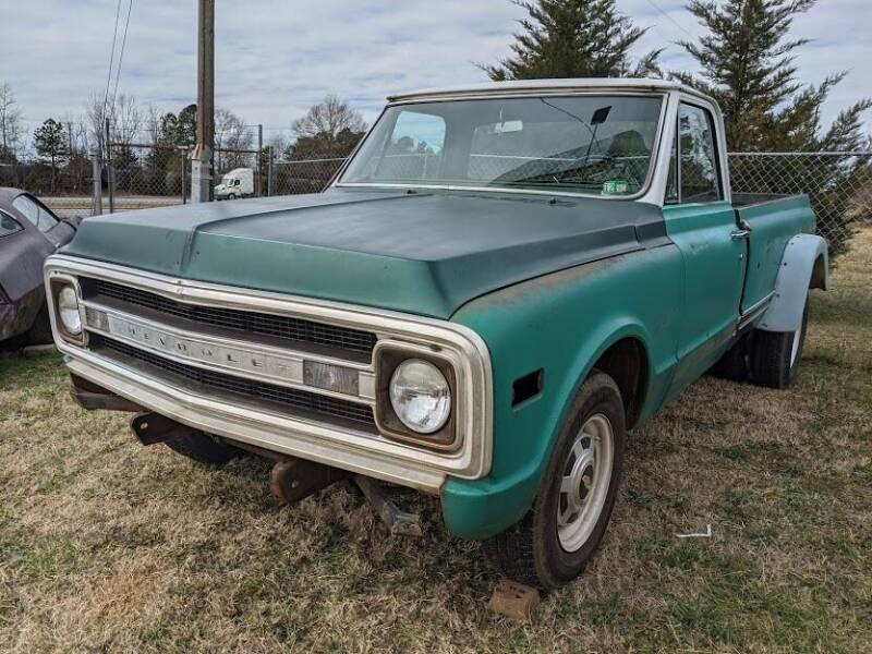 1970 Chevrolet C/K 20 Series for sale at Classic Cars of South Carolina in Gray Court SC