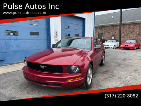 2006 Ford Mustang for sale at Pulse Autos Inc in Indianapolis IN