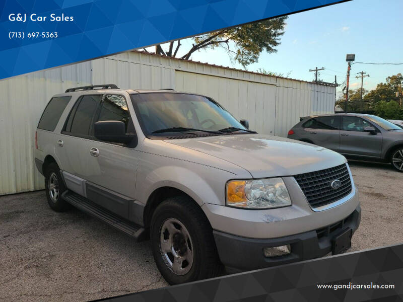 2006 Ford Expedition for sale at G&J Car Sales in Houston TX