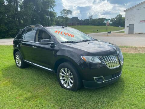 2013 Lincoln MKX for sale at Tennessee Valley Wholesale Autos LLC in Huntsville AL