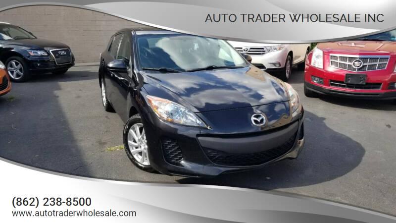 2012 Mazda MAZDA3 for sale at Auto Trader Wholesale Inc in Saddle Brook NJ