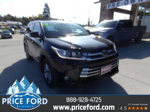 2018 Toyota Highlander for sale at Price Ford Lincoln in Port Angeles WA