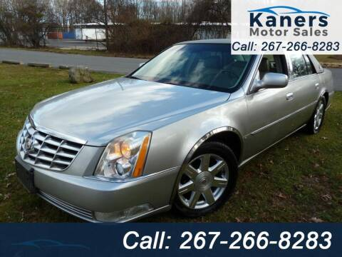 2006 Cadillac DTS for sale at Kaners Motor Sales in Huntingdon Valley PA
