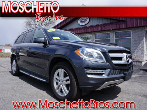 2014 Mercedes-Benz GL-Class for sale at Moschetto Bros. Inc in Methuen MA