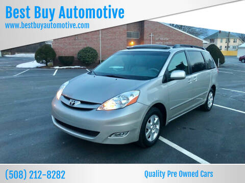 2008 Toyota Sienna for sale at Best Buy Automotive in Attleboro MA