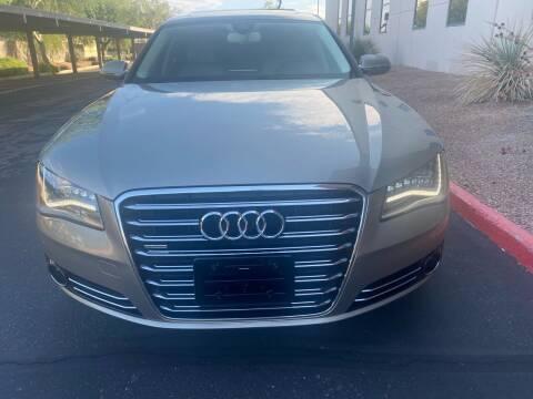 2012 Audi A8 L for sale at Autodealz in Tempe AZ