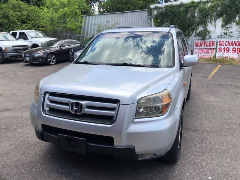 2008 Honda Pilot for sale at 4 Girls Auto Sales in Houston TX