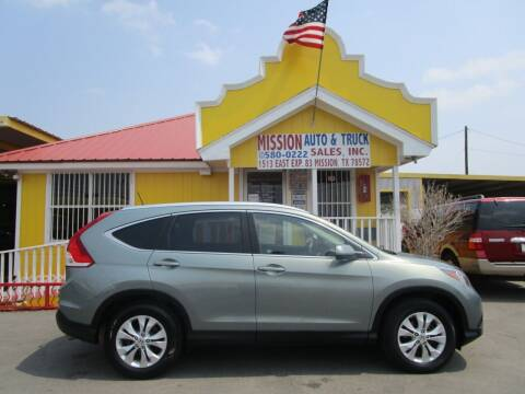 2012 Honda CR-V for sale at Mission Auto & Truck Sales, Inc. in Mission TX