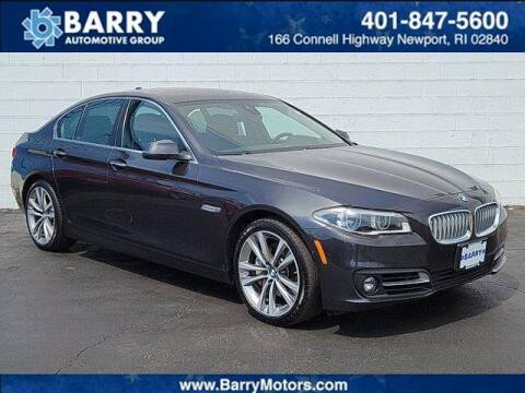 2016 BMW 5 Series for sale at BARRYS Auto Group Inc in Newport RI