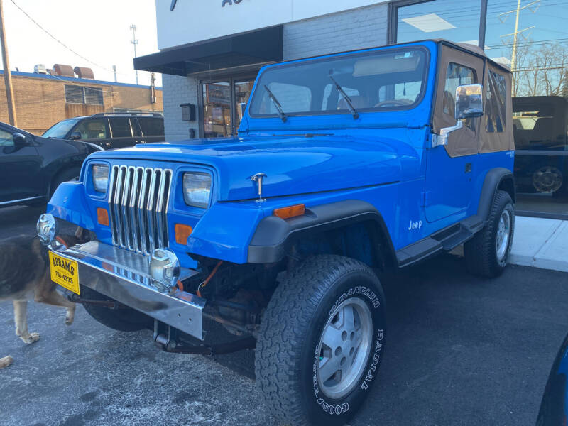 1995 Jeep Wrangler for sale at Abrams Automotive Inc in Cincinnati OH