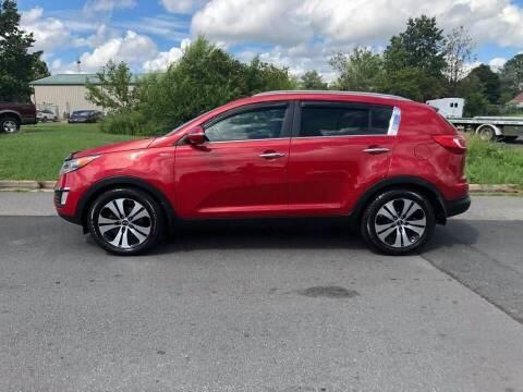 2012 Kia Sportage for sale at CR Garland Auto Sales in Fredericksburg VA