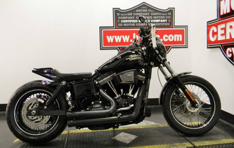2017 Harley-Davidson DYNA STREET BOB for sale at Certified Motor Company in Las Vegas NV