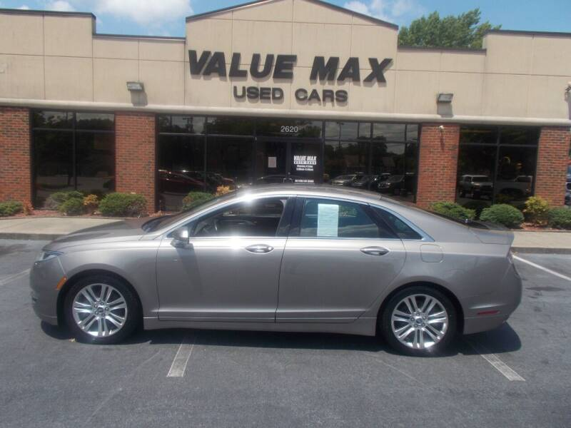 2015 Lincoln MKZ for sale at ValueMax Used Cars in Greenville NC