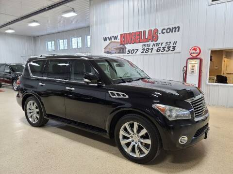 2011 Infiniti QX56 for sale at Kinsellas Auto Sales in Rochester MN