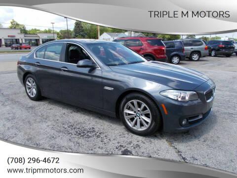 2015 BMW 5 Series for sale at Triple M Motors in Saint John IN