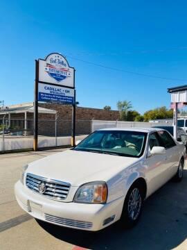 2003 Cadillac DeVille for sale at East Dallas Automotive in Dallas TX