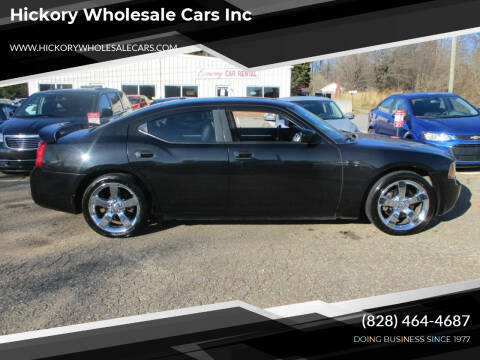 2010 Dodge Charger for sale at Hickory Wholesale Cars Inc in Newton NC