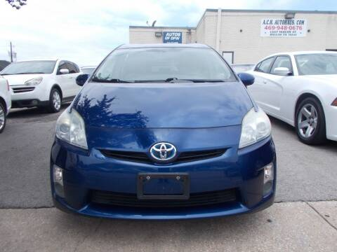 2010 Toyota Prius for sale at ACH AutoHaus in Dallas TX