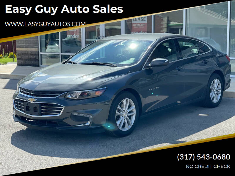 2018 Chevrolet Malibu for sale at Easy Guy Auto Sales in Indianapolis IN