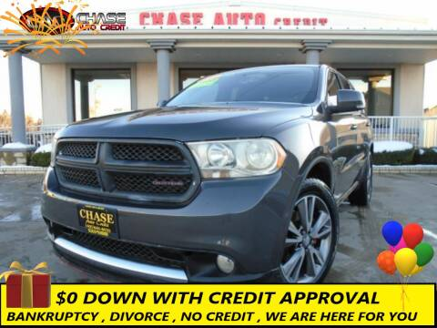 2011 Dodge Durango for sale at Chase Auto Credit in Oklahoma City OK