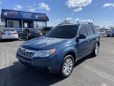 2012 Subaru Forester for sale at All American Auto Sales LLC in Nampa ID